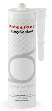 Firestone Easy Sealant, easy to use, glue pond liners, repair liners,