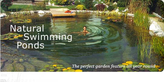 Swimming ponds are a natural choice for skin sensitive swimmers